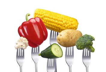 Menge Gemüse