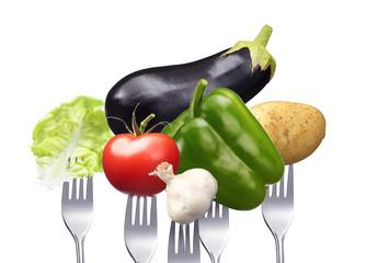Vitaminreiches gesundes Gemüse