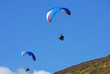 paragliders over Rhossili