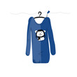 Sweater on hangers with funny bear design