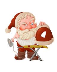 Santa Claus with flatiron