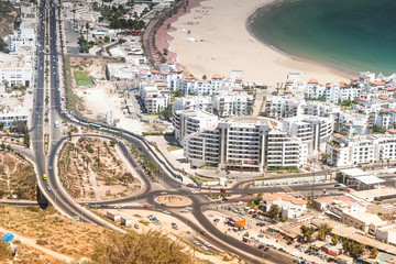 City view of Agadir, Morocco