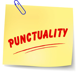 Vector punctuality message