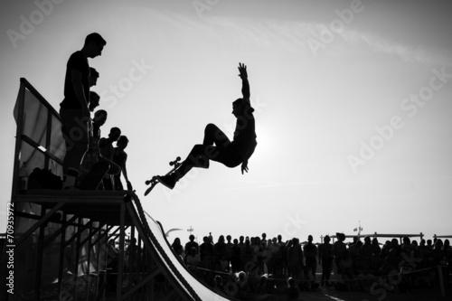 Fototapeta Jump