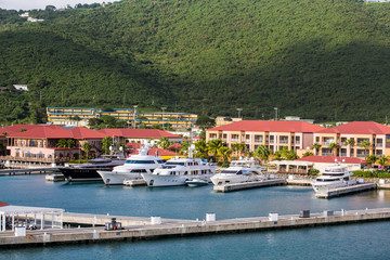 Five Yachts in St Thomas