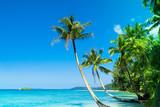 Idyllic Island Serenity Shore poster