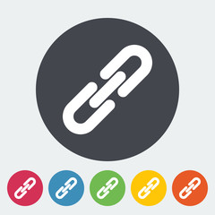 Link single icon.