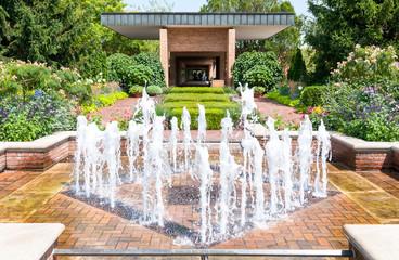 Chicago Botanic Garded, The Circle garden area