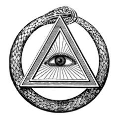 Masonic Snake Eye
