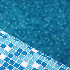 Blue pool tile background