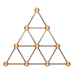 Tetraktys, Unit of Four - Pythagorean Symbol