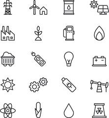 Energy & Power icons