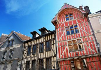 Maisons à Colombages à Troyes, en Champagne