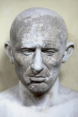 The ancient bust