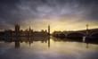 Obrazy na płótnie, fototapety, zdjęcia, fotoobrazy drukowane : London sunset