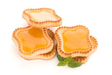 Lime jam tartlets