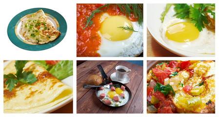 collection Delicious egg
