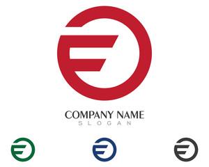 F Global Logo Template