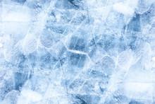 Tekstury lodu Bajkał