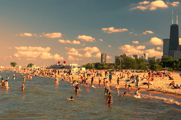 North Avenue beach Chicago