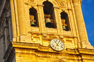 Torre de la catedral de Jaén, Andalucía, España