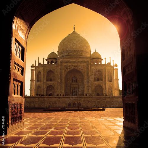 Fotobehang India Taj Mahal