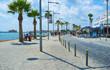 Leinwanddruck Bild - The Poseidonos Ave