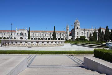 Jeronimo monastery in Lisbon, UNESCO