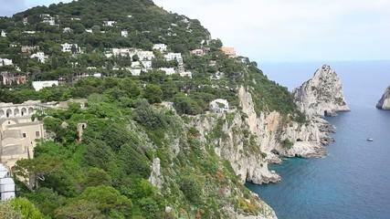Faraglioni, Capri island, Italy.