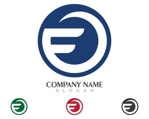 F Global Logo Template 2