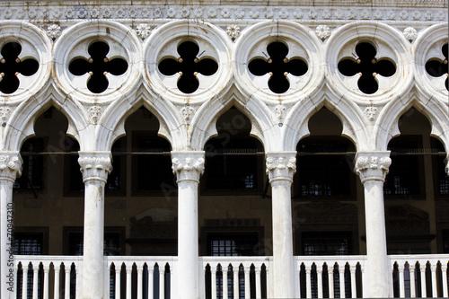 Aluminium Venice Doge's Palace, Venice, Architectural detail