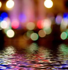 Photo Bokeh Light  Street Lights Out Of Focus Wallpaper