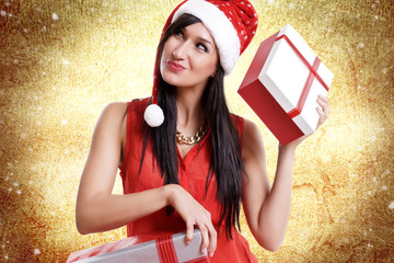 Weihnachten Frau Geschenke