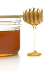 Honey Dipper and Jar