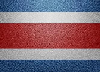 Costa Rica Denim  flag