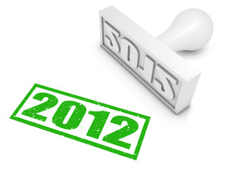 2012 Rubber Stamp