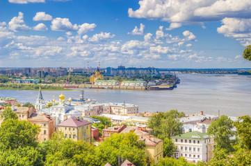 Top view  center  Nizhny Novgorod