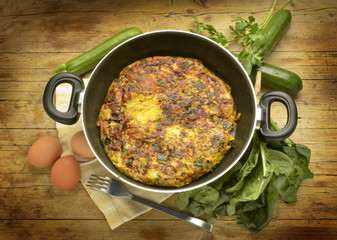 Frittata フリッタータ فريتاتا 義大利式菠菜烘蛋 Фриттата Expo 2015