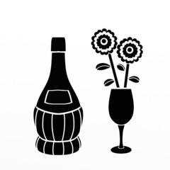 fiaschetto di vino