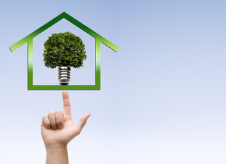 Haus-Nachhaltiger Stromverbrauch