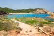 Leinwanddruck Bild - Cala Pregonda, Menorca