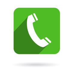Phone Icon Symbol Flat Design