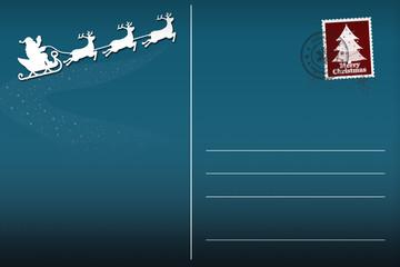 Weihnachtskarte Postkarte © Matthias Buehner