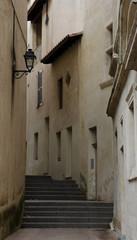 Narrow street of Avignon