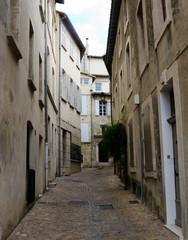 Narrow street in historic Avignon