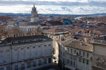 Historic Avignon city center