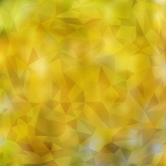 Modern Abstract Blurred Background with Transparent Triangles