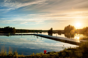 Sommerabend in Schweden