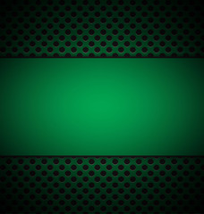 illustrate of green grill texture background.