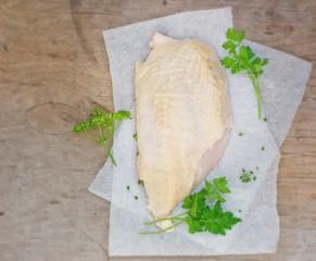 fresh, crude farmer chicken breast